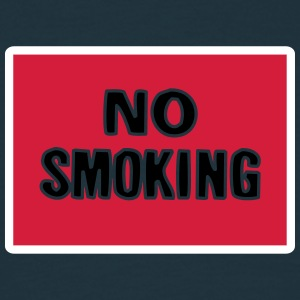 no_smoking T-shirts - Herre-T-shirt