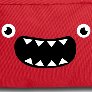 Funny Monster Face Bags & backpacks - Backpack
