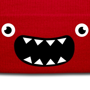Funny Monster Face Caps & Hats - Winter Hat