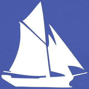 boat  Sea  sailing sailor - Men's Ringer Shirt