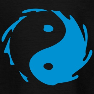Yin-Yang Splash T-shirts - T-shirt barn