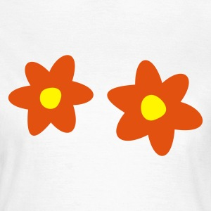 Blomster T-shirts - Dame-T-shirt