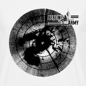 BERLIN ARMY Radar No.1 -black- - Männer T-Shirt