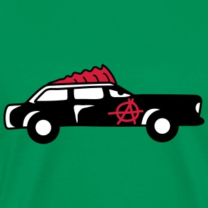 Punk Car T-shirts - Herre premium T-shirt
