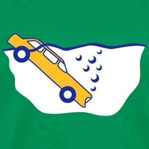 Diving Car T-shirts - Premium-T-shirt herr
