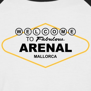 Welcome to Fabulous Arenal Mallorca T-Shirts - Männer Baseball-T-Shirt