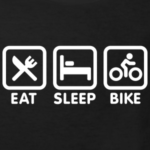 Eat sleep bike Tee shirts - T-shirt Bio Enfant