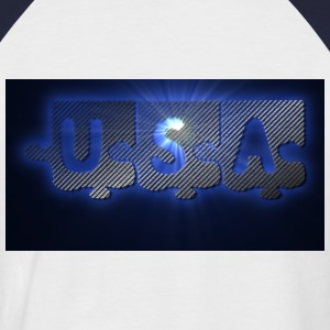 UNITED STATES OF AMERICA T-shirts - Männer Baseball-T-Shirt