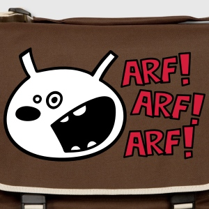 The dog barks: ARF, ARF, ARF! Bags & backpacks - Shoulder Bag