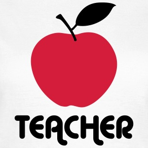 teacher apple T-Shirts - Women's T-Shirt
