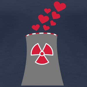 Nuclear Power Love T-skjorter - Premium T-skjorte for kvinner