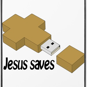 jesus saves usb Other - iPhone 4/4s Hard Case