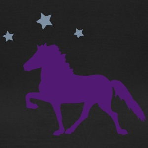 Horse with Stars T-shirts - Dame-T-shirt