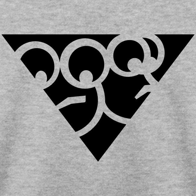 Dreieck Pulli (Grau)