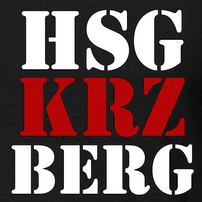 T-Shirt HSG X Berg mit Schrift vorne