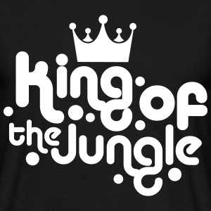 king of the jungle T-shirts - Mannen T-shirt