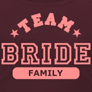 team bride family T-Shirts - Women's Scoop Neck T-Shirt