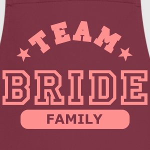 team bride family  Aprons - Cooking Apron