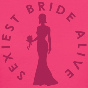 Sexiest Bride Alive T-Shirts - Women's Organic T-shirt