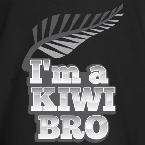I'm a KIWI BRO with silver fern New Zealand Long Sleeve Shirts - Baby Long Sleeve T-Shirt