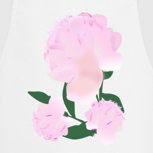 peonies  Aprons - Cooking Apron