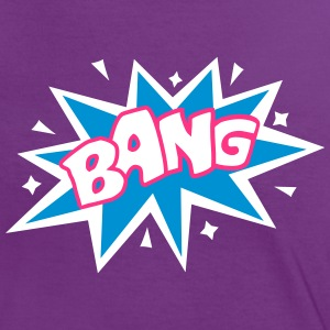 BANG, comic speech bubble, cartoon, word balloon Tee shirts - T-shirt contraste Femme