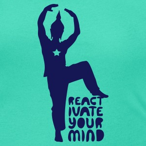 Emerald green reactivateyourmind02 Women's Tees - Women's Scoop Neck T-Shirt