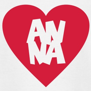 I Love Anna T-Shirt - Kinder T-Shirt