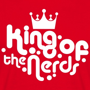 king of the nerds T-Shirts - Men's T-Shirt