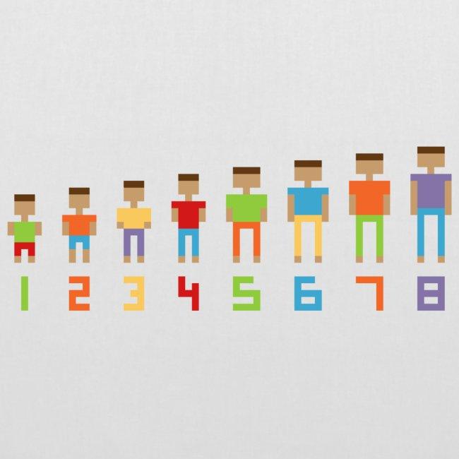 Basisschool in pixels