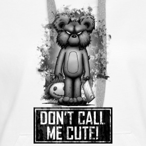 Teddy - Don't Call Me Cute Sweat-shirts - Sweat-shirt à capuche Premium pour femmes