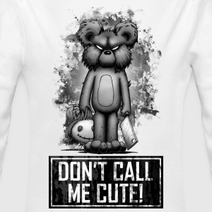 Teddy - Don't Call Me Cute Hoodies - Longlseeve Baby Bodysuit