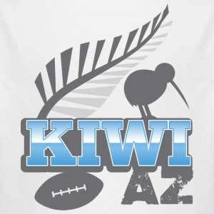 KIWI AZ New Zealand with a rugby ball and bird Hoodies - Longlseeve Baby Bodysuit
