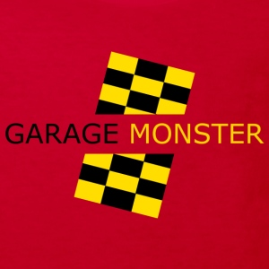 garage monster T-Shirts - Kinder Bio-T-Shirt