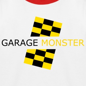 garage monster T-Shirts - Kinder Baseball T-Shirt