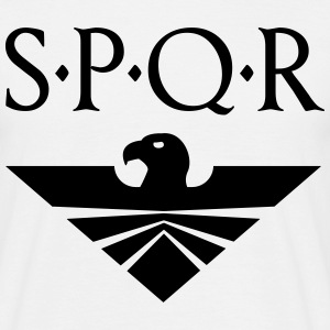 Eagle Aquila SPQR  T-Shirts - Men's T-Shirt