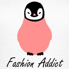 small fluffy penguin T-Shirts