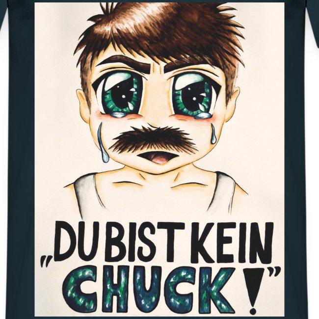 Du bist kein Chuck! (T-Shirt) Navy