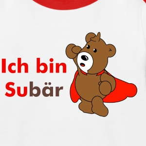 Subär - Kinder Baseball T-Shirt