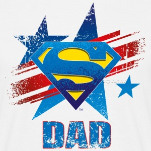Superman 'S-Shield Dad' Männer T-Shirt - Männer T-Shirt