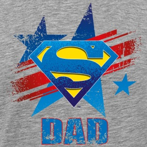 Superman 'S-Shield Dad' Men T-Shirt - Mannen Premium T-shirt