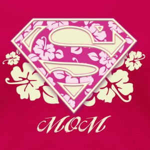 Superman 'S-Shield Mom' Women T-Shirt - Dame premium T-shirt
