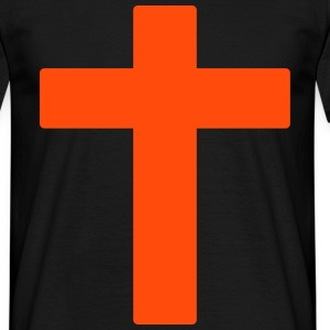 cross T-shirts - Mannen T-shirt