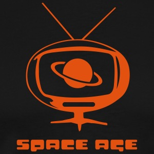 space age TV T-Shirts - Men's Premium T-Shirt