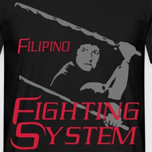 Filipino Fighting System  - Männer T-Shirt