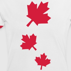 Maple leaves Women's Ringer T-shirt - Women's Ringer T-Shirt