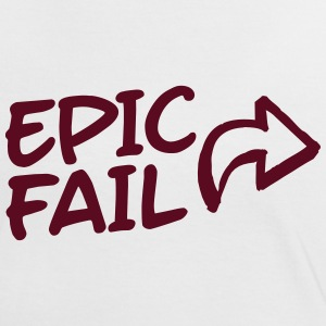 epic fail T-shirts - Vrouwen contrastshirt