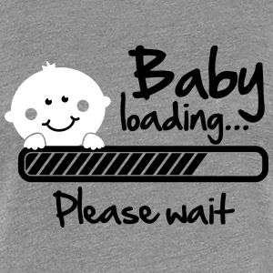 Baby loading - please wait T-shirts - Premium-T-shirt dam
