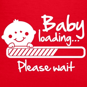 Baby loading - please wait T-shirts - T-shirt dam