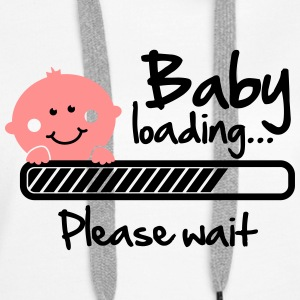 Baby loading - please wait Sweat-shirts - Sweat-shirt à capuche Premium pour femmes